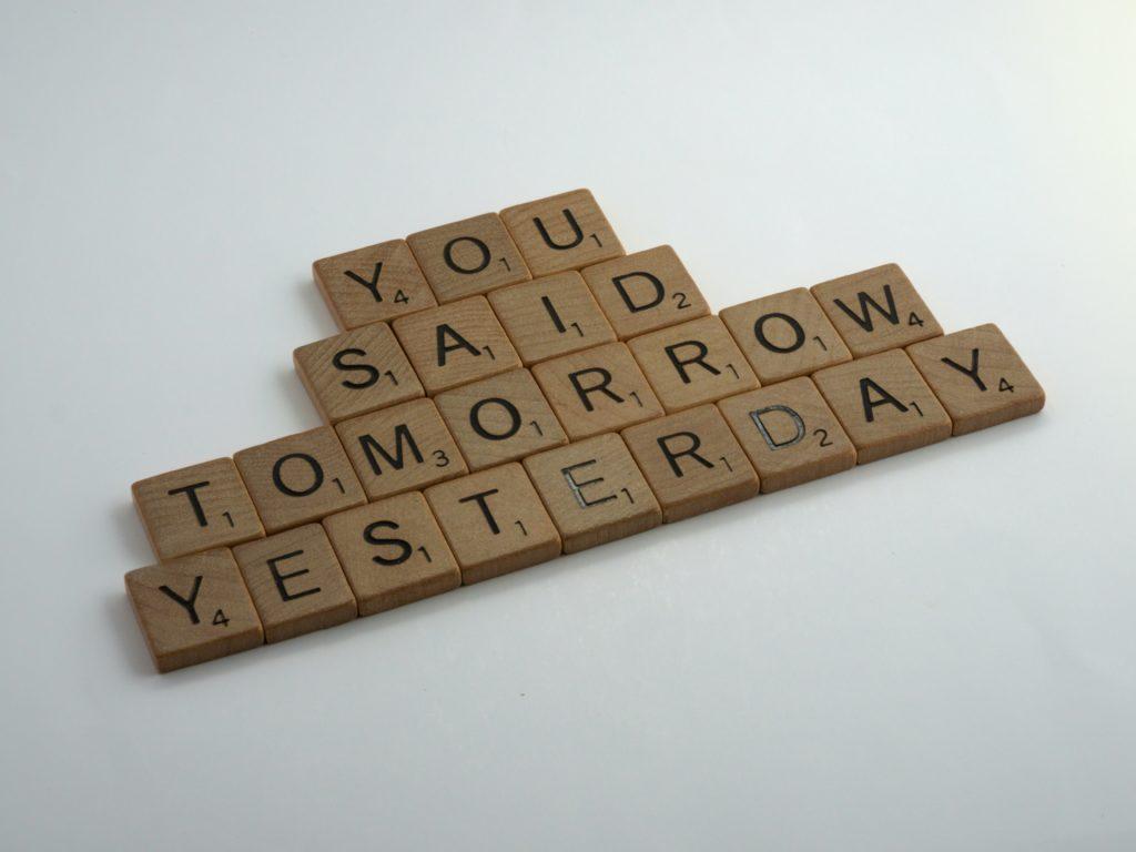 yousaidtomorrowyesterday